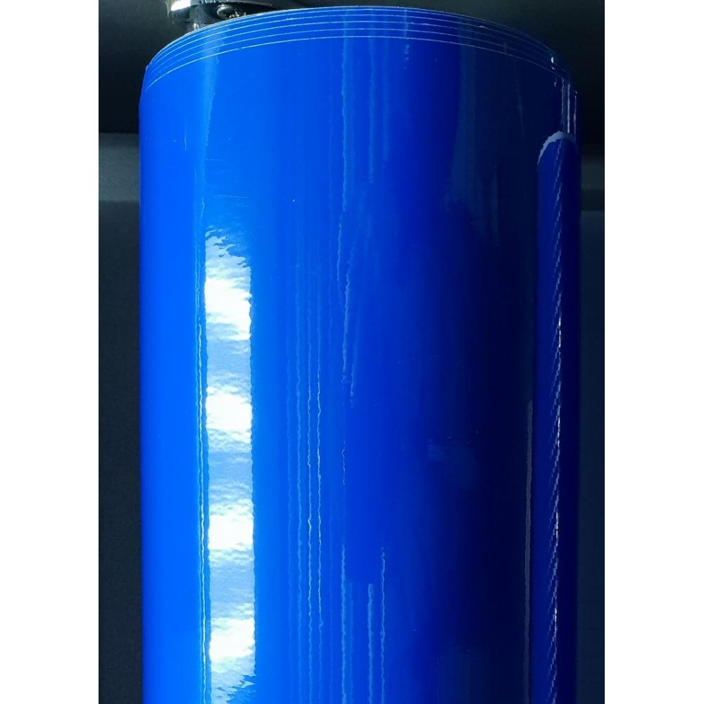 Глянцевая пленка Синяя