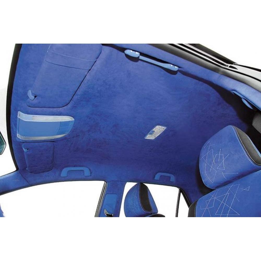 Алькантара Синяя
