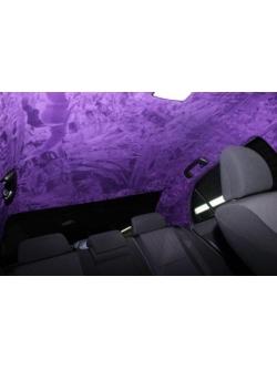 Алькантара Фиолетовая