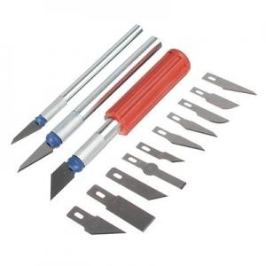 Набор ножей для резьбы по дереву 13 предметов