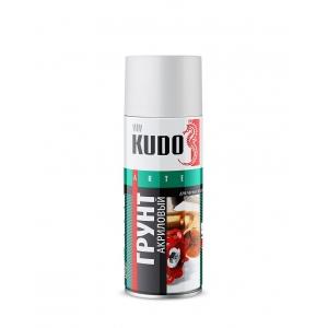 Грунт универсальный акриловый серый 520мл Kudo