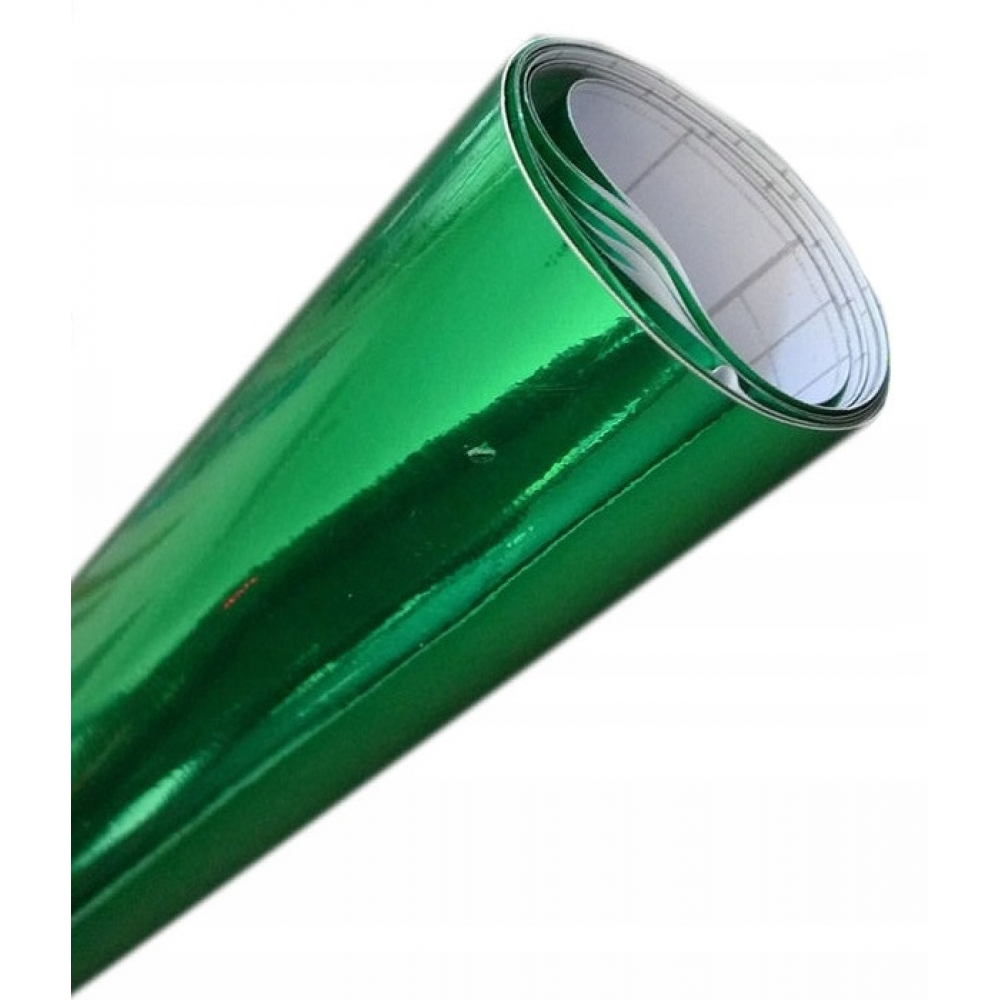 АКЦИЯ Хром пленка, Зеленая