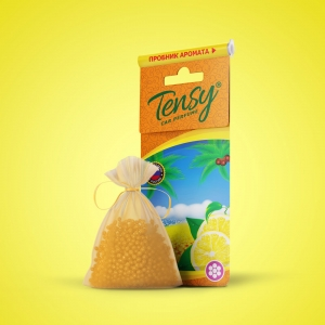 Ароматизатор Tensy (мешочек гранула со шнурком) Лимон