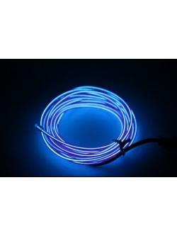 Неоновая лента Синяя