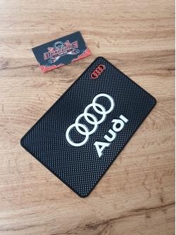Наноковрик с большим логотипом 19 х 13 см Audi