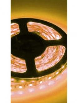 Лента светодиодная LED Желтая влагозащищенная