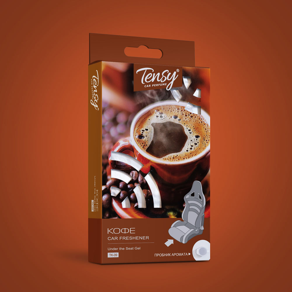 Ароматизатор Tensy Big (гелевая основа) Кофе