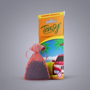 Ароматизатор Tensy (мешочек гранула со шнурком) Новая машина