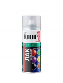 Лак универсальный акриловый глянцевый 520мл Kudo