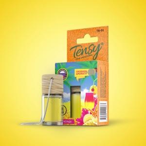 Ароматизатор Tensy  (бутылочка с деревян.крышкой) Пина колада/секс элексир