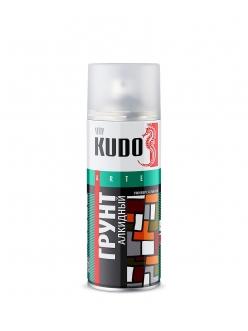 Грунт универсальный алкидный серый 520мл Kudo