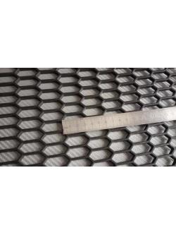 Сетка радиатора пластик Сота 40х116см