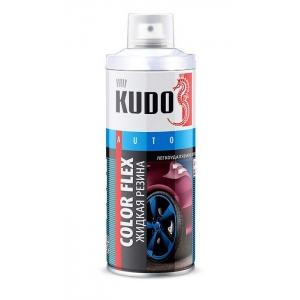 Белая матовая резина KUDO, Баллончик 520мл