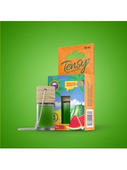 Ароматизатор Tensy  (бутылочка с деревян.крышкой) Арбуз