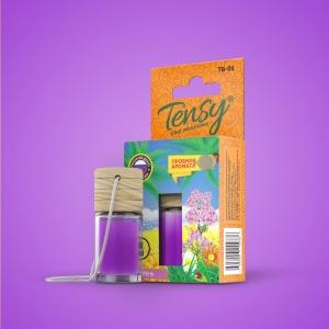 Ароматизатор Tensy  (бутылочка с деревян.крышкой) Сирень