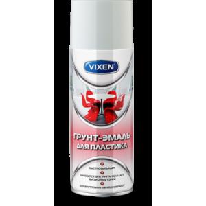 Грунт-эмаль для пластика черный матовый 520мл Vixen