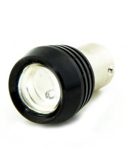 Лампа светодиодная (2 конт) линза BAY15d
