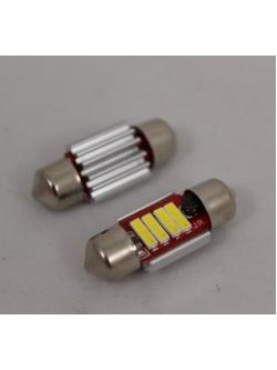 Лампа светодиодная 11-31 биполярная, обманка, радиатор