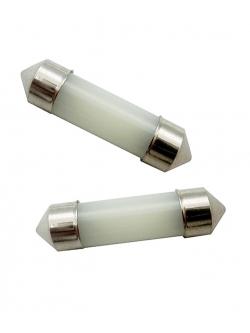 Лампа светодиодная 11-31 COB диод CL стеклянная колба