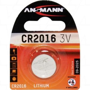 Батарея CR 2016 3V Ansmann