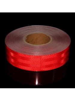 Светоотражающая лента Красная