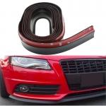 Резина для отделки бампера авто черная 2,5мх5.5см