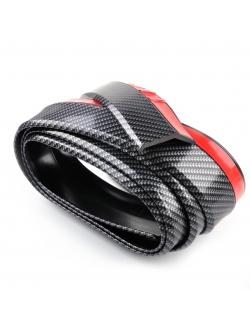 Резина для отделки бампера авто черный карбон 2,5мх5,5см
