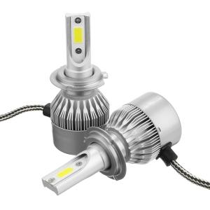 Лампы LED C6 H7 6000k (2шт)