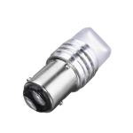 Лампа светодиодная 2х контактная, линза 3D, 9 SMD диодов BAY15d