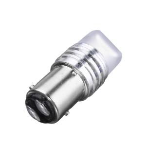 Лампа светодиодная (2 конт) линза 3D, 9 SMD диодов BAY15d