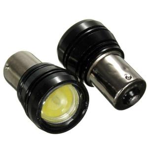 Лампа светодиодная (1 конт) линза BA15s