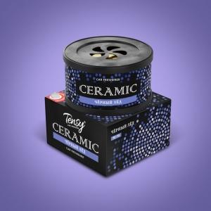 Ароматизатор меловой Tensy Ceramic Черный лед