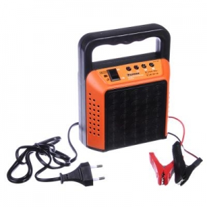 Зарядное устройство трансформаторное автомат 6А, 6В/12В, пластик.корпус Ерамак