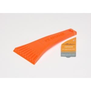 Скребок для удаления льда оранжевый