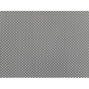 Облицовка радиатора (сетка декоративная) алюминий, 100 х 40 см, черная, ячейки 6мм х 3,5мм