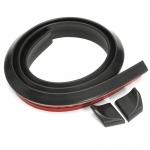 Спойлер резиновый универс. черный 1,5мх3,5см