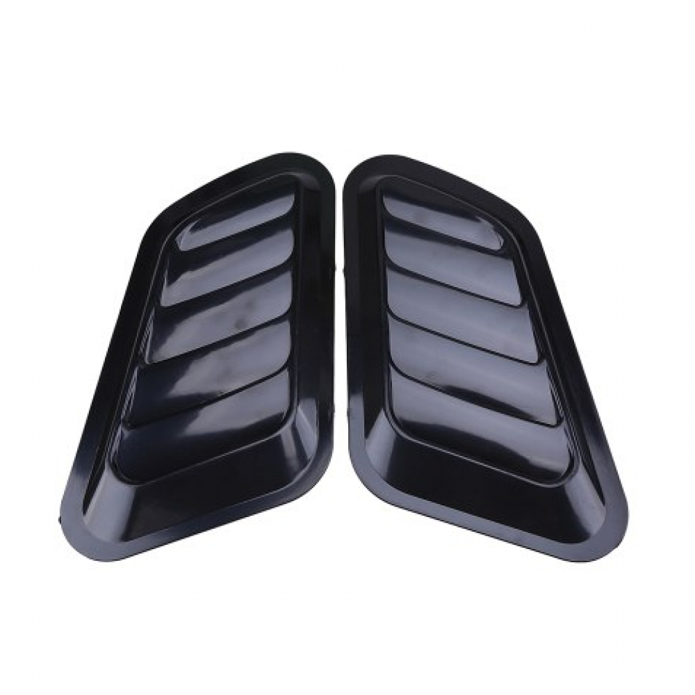 Воздухозаборники боковые декоративные, черные 2шт