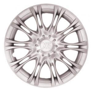 Колпаки колесные 15 Х5 серебристые 4шт