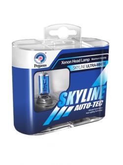 Лампа SkyLine Н4 5500K 12v 60-55w(2шт)