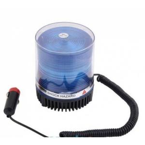 Проблесковый маячок светодиодный синий, на магните