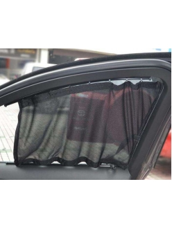 Шторки в салон авто с пластик.направляющими 60S