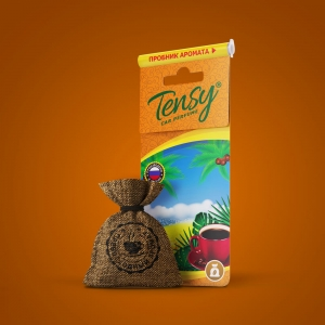 Ароматизатор Tensy (мешочек со шнурком) Кофе