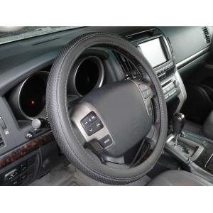 Оплетка на руль кожа, черный, р-р 39-40см QSX-15801