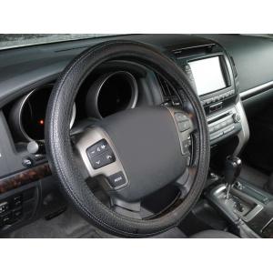 Оплетка на руль кожа, черный, р-р 45см QSX-2017