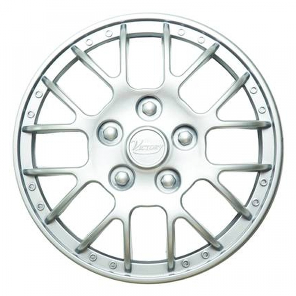 Колпаки колесные 14 Виктори, серебристый  4шт