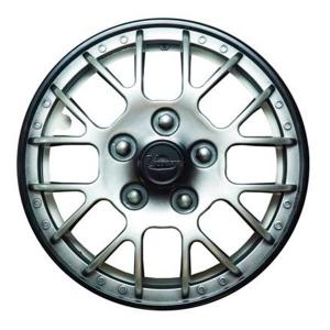 Колпаки колесные 15 Виктори супер, серебристо-черный  4шт