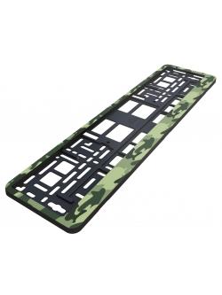 Рамка номерного знака Камуфляж зеленый