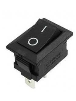 Прямоугольный переключатель на 2 положения, 2 контакта 12V