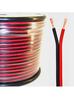 Кабель акустический 2х1,5мм (красно-черный)