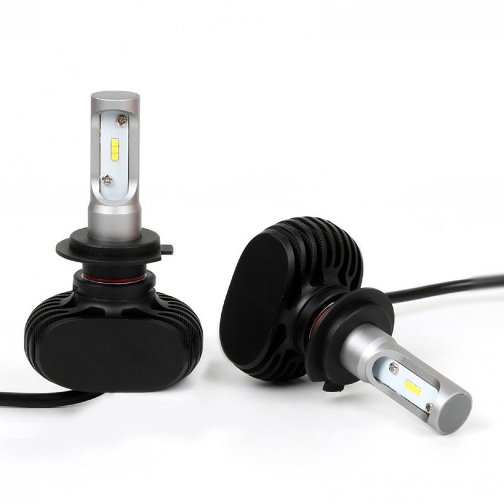 Лампы LED S1 H7 4300k (2шт)